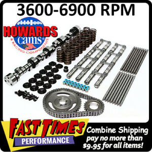 Howard S Bbc Chevy Retro Fit Hyd Roller 306 312 657 640 110 Cam Camshaft Kit