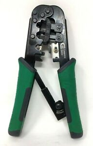 Commercial Electric Telephone Ratchet Cutter crimping Tool 6 8 Pin