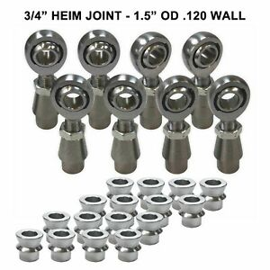 3 4 4 Link Rod End Heim Joint Fabrication Kit Hms Spacers 1 5 Od 120 Wall Tube