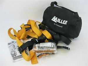 Miller By Honeywell Safety Harness And Titan Cross Arm Strap With Carry Bag New