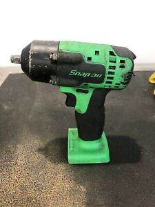 Snap on Ct8810bg 3 8 Drive Impact Cordless Wrench Gun 18v Li ion Bare Tool Only