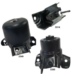 Engine Transmission Mounts 23195922 23195921 23195931 Fits Chevrolet Colorado
