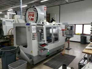 Used 2007 Haas Vf 3ss Apc Cnc Vertical Machining Center Mill W Pallet Changer Ct