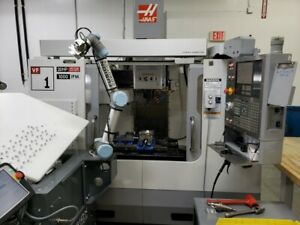 Used 2006 Haas Vf 1 Cnc Vertical Machining Center Mill Usb Rigid Tap P cool Ct