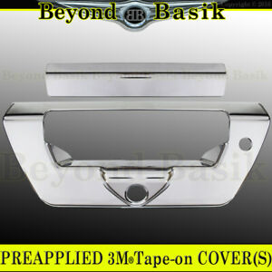 2018 2019 2020 Ford F150 F 150 Chrome Tailgate Handle Cover Overlay W ch lsh