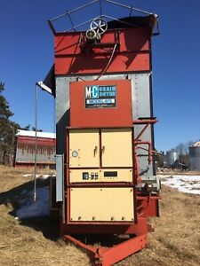 Mc675 Portable Continuous Grain Dryer