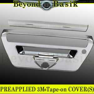 2018 2019 2020 Ford F150 Chrome Lrt Tailgate Handle Cover Overlay W ch lsh