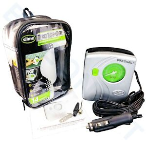 Slime 40020 Tire Top Off Inflator With Tire Gauge Led Light New