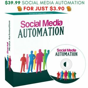 Social Media Automation 2020 Instagram Youtube Facebook Twitter Pinterest Course