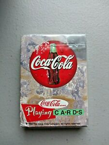 Vintage 1998 COCA COLA Playing Cards UNOPENED Sealed