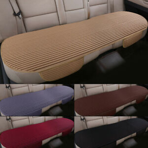 Breathable Back Rear Seat Cover Cushion Protector Pad Mat Ice Silk Half Surround