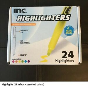 Lot Of Pens Highlighters Permanent Markers Home School Supplies
