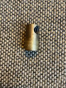 South Bend Lathe 9 Compound Rest Screw Brass Nut Guide Nut