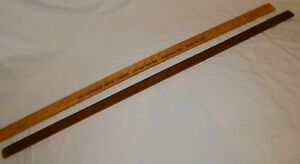 Vintage 1964 Chevrolet And Muncie Lumber Advertising Yard Sticks Check Out Pics