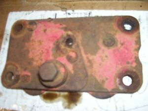 Vintage Ford 850 Gas Tractor Hydraulic Remote Outlet Plate 1955