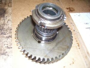 Vintage Oliver 55 Gas Tractor Live Pto Drive Gear 1958