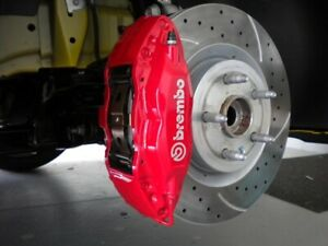 Ford Mustang Brembo Front Pair Lh Rh Powdercoated Calipers White Or Blacklogo