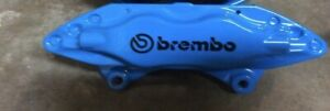Ford Mustang Pair 2 Brembo Front Lh Rh Powdercoated Calipers W Pin Kit Blue