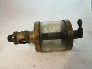 Thrall Fishback Motor Co Brass Oiler For Hit Miss Gas Or Steam Engine