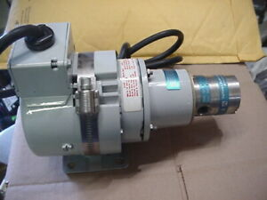 New Tuthill D Series Micropump Mag Drive Stainless Gear Pump 115 230v Motor 6gph