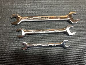 Snap On Sae Open End Wrench Set
