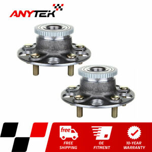 Pair Rear Wheel Bearing And Hub Assembly W Abs For 2001 2002 2003 Acura Cl