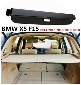 Genuine Bmw X5 Rear Trunk Cargo Cover Oem E70 07 13 F15 14 17 Beige Tan