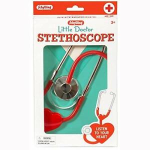 Child Stethoscope Doctor Dr Nurse Educational Heart Toy Role Play Real Working