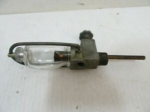 Zenith F425x2 Glass Fuel Sediment Bowl Valve For Ford 2n 9n 8n Naa Jubilee