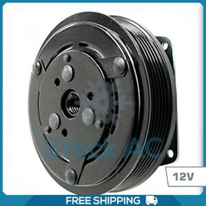 New A c Compressor Clutch Assmbly Fits York Models 6 Groove 12v 1 Wire