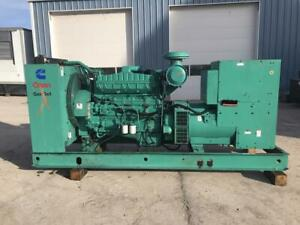 _350 Kw Cummins Onan Generator Set Year 1999 Skid Mounted 12 Lead
