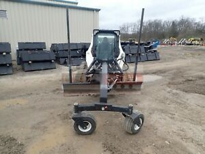 2017 Bobcat 84 Grader Blade For Skid Steer Track Loaders Low Use