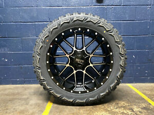 22x10 Moto Metal Mo986 Siege Wheels Rims 35 Mt Tires 8x170 Ford Super Duty F250
