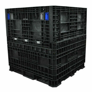Collapsible Used Bulk Containers 48 X 40 X 39