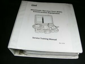 Case New Holland Cnh Industial Electronic Service Tool Construction Equip Manual