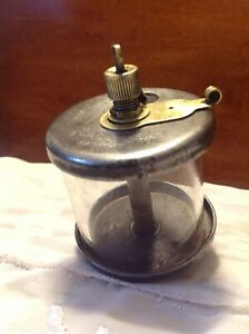 Antique Vintage Michigan Lubricator Co 46a5 Hit And Miss Engine Oiler