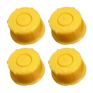 Kp37 Pack Of 4 Blitz Yellow Spout Cap Fits Self venting Gas Can Spouts