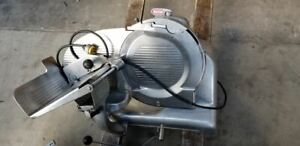 Berkel 919 1 Commercial Manual 2 Speed Gravity Feed Slicer