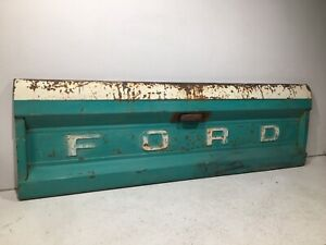 1964 1972 Ford F100 F250 F350 Pickup Truck Tail Gate Tailgate Lift Turquoise