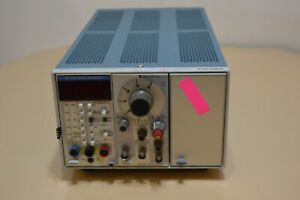 Tektronix Tm503 Mainframe Dm 501a Multimeter Fg 503 Function Generator
