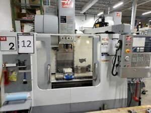 Used 2006 Haas Vf 2 Cnc Vertical Machining Center Mill Side Mnt Vmc 3016 Machine