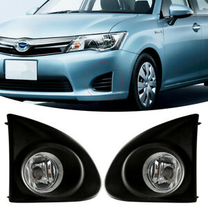 Fit For Toyota Corolla Axio 2013 2015 Fog Lamp Car Bumper Lights Kit Wire switch