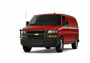 Black Horse Fit 03 20 Chevy Express Passenger commercial Van Black Grille Guard