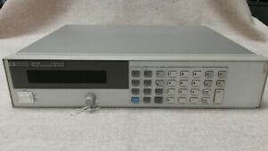 Agilent 66332a 20v 5a High Accuracy Programmable Dc Power Supply Tested