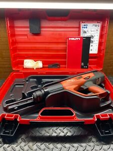 Hilti Dx 5 Powder Actuated Nail Stud Tool Concrete Nailer Gun W case