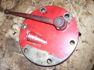 Vintage Ford 850 Gas Tractor Pto Engage Lever Hyd Cover 1955