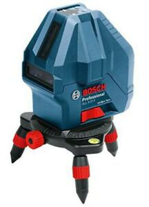 Bosch Gll 3 15x Professional 3 line Laser blue 7 pieces