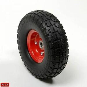 Replacement 10 Flat Free Wheel For Dolly Hand Truck