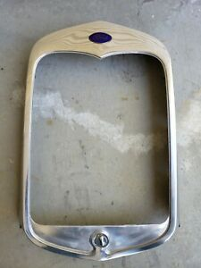 1930 Ford Model A Radiator Shell Original Stainless Steel