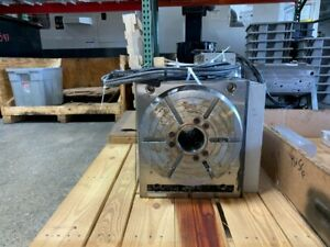 Used Haas Hrt 310sp Brushess Sigma 1 Rotary Table Indexer 4th Axis Space Saver